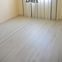 Parquet chambre APRES