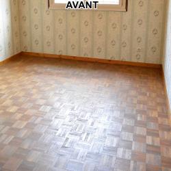 Parquet chambre AVANT