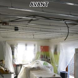 Plafond cuisine AVANT